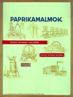 Paprikamalmok Szegeden és Kalocsán